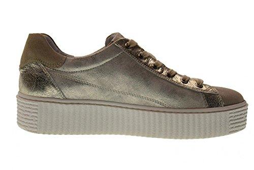 P805281D Basse Savana Sneakers con Giardini Nero Piattaforma Scarpe 505 Donna wqx1UIZna0
