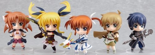 Magical Girl Lyrical Nanoha The MOVIE 1st: Nendoroid Petit Action Figures (1 Box of 12 pcs.) B003IH6WRW