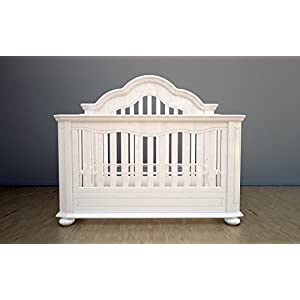 Universal Full Size Conversion Kit Bed Rails for Baby's Dream Cribs - Snowdrift