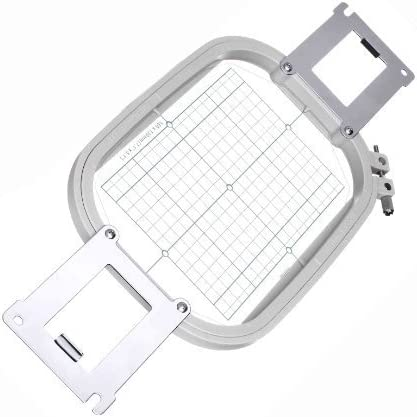 Embroidery Hoop PRH100 Replacement 4 x 4 for Brother PR600 PR600II PR600C PR620 PR620II PR650 PR650E PR1000 PR1000E Babylock EMP6 BMP6 BMP8 BMP9 ENT10- Generic PRH100 EPF100 Replacement