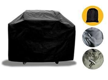 Cobertor para barbacoa Brightent L145cm gas parrilla fundas para uso exterior e interior diseño cilíndrico protección