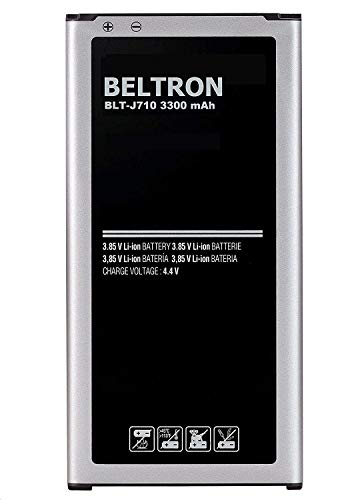 (New 3300 mAh BELTRON Replacement Battery for Samsung J7 (2017), J7 Perx, J7 Sky Pro, J710, J727 - EB-BJ710)