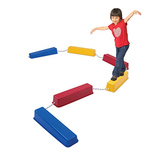 Edx Education Step-a-Logs - in Home Learning Supplies for Physical Play