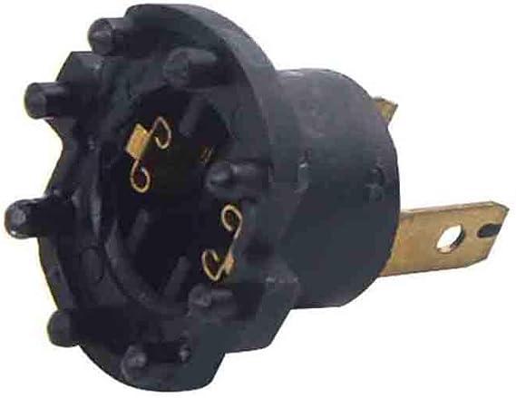 Fornateu 1 par de Coches de Faros Socket H7 Globe reemplazo del sostenedor de Bulbo para 2 DE 3 323 BK BJ B28V510A3 12V