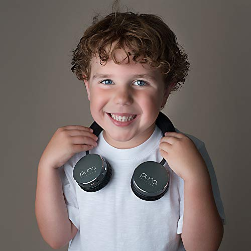 Puro Sound Labs BT2200 On-Ear Headphones Lightweight Portable Kids Earphones with Safe Wireless, Volume Limiting, Bluetooth and Noise Isolation for Smartphones/PC/Tablet - BT2200 Grey by Puro Sound Labs (Image #3)