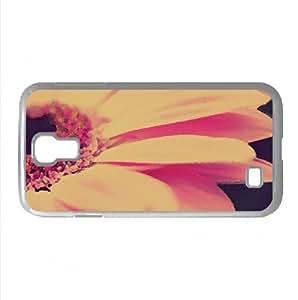 Gerbera Macro Watercolor style Cover Samsung Galaxy S4 I9500 Case (Flowers Watercolor style Cover Samsung Galaxy S4 I9500 Case)