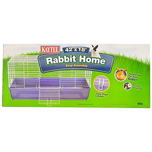 Kaytee My First Rabbit Home, 42 by 18-Inch Extra Large