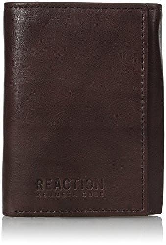04. Kenneth Cole REACTION Men's RFID Blocking Crunch Trifold Wallet