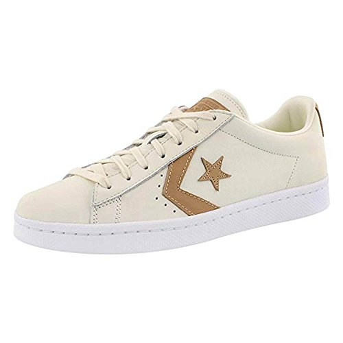 Mens PL Fashion Sneakers Egret Lunarlon 76 OX tan egret Top Low Converse w7dqBx57