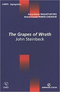The Grapes of Wrath : John Steinbeck par Anne-Marie Paquet-Deyris