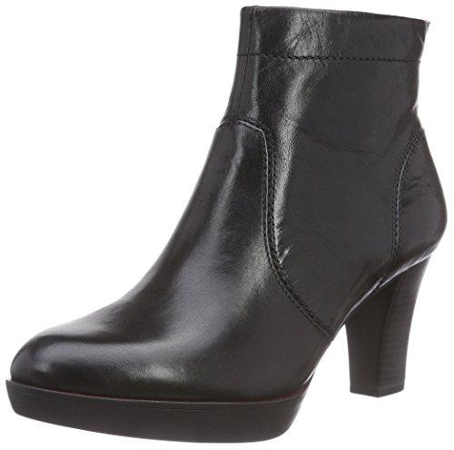 Tamaris 25360 - botas de cuero mujer negro - negro