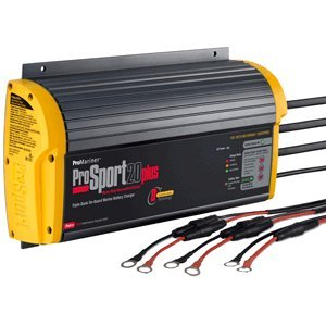 ProMariner ProSport 20+ Generation 3 20 Amp, 12/24/36 Volt, 3 Bank Battery Charger by ProMariner