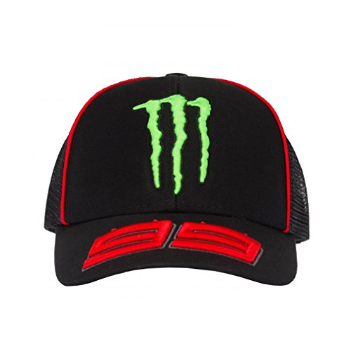 Jorge Lorenzo 99 Moto GP Monster Energy Trucker Baseball Cap Official 2018