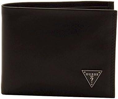 GUESS Men's Leather Passcase Wallet