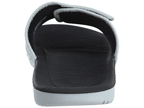 Sandalo scorrevole regolabile Nike KAWA - Uomo (7 D (M) US, Bianco / Nero)