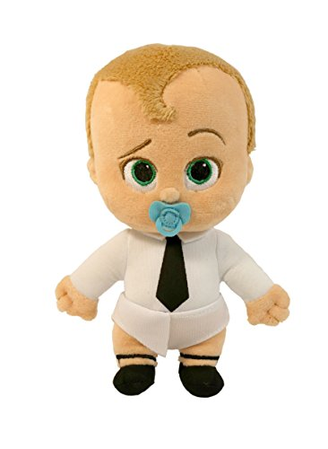 "Price comparison product image Commonwealth Toy The Boss Baby 8"" Beanie Diaper Plush"