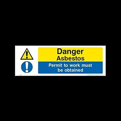 Peligro amianto - Permiso de trabajo debe ser obtenido ...