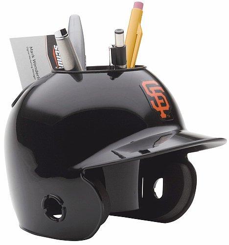 Schutt MLB San Francisco Giants Authentic Mini Batting Helmet Desk Caddy