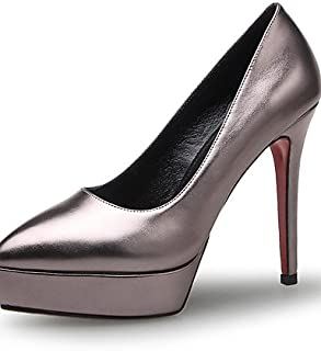 GGX/ Chaussures Femme-Bureau & Travail / Habillé-Bleu / Gris / Pêche-Talon Aiguille-Talons / Gladiateur / Bout Pointu-Talons-Microfibre blue-us4-4.5 / eu34 / uk2-2.5 / cn33 MNJMK
