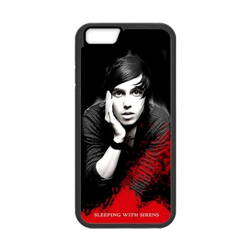 Fayruz- Personalized Protective Hard Textured Rubber Coated Cell Phone Case Cover Compatible with iPhone 6 & iPhone 6S - Kellin Quinn of Sleeping With Sirens F-i5G1102