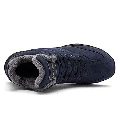 Sportive Invernali Neve 46 Da Sneaker Rosa Giallo Foderato Snow Blu Donna Boots Pelliccia Uomo Outdoor 36 Lavoro Piatti Nero Caldo Stivali Ginnastica UpSzVM