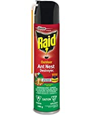 Raid Ant Killer Nest Destroyer, Kills on Contact, For Outdoor Use, 400g