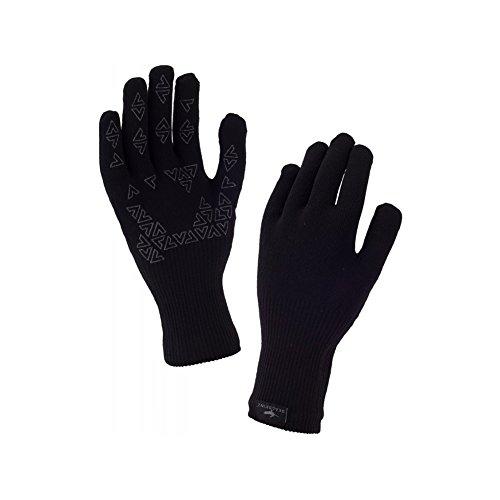 Sealskinz Ultra Grip Gauntlet Gloves Small Black ()