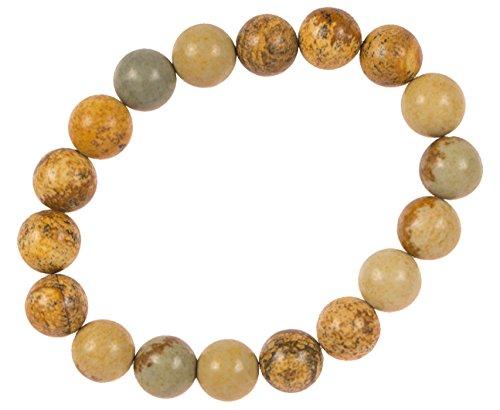 Viable Harvest Real Stone Bracelets (Picture Stone)