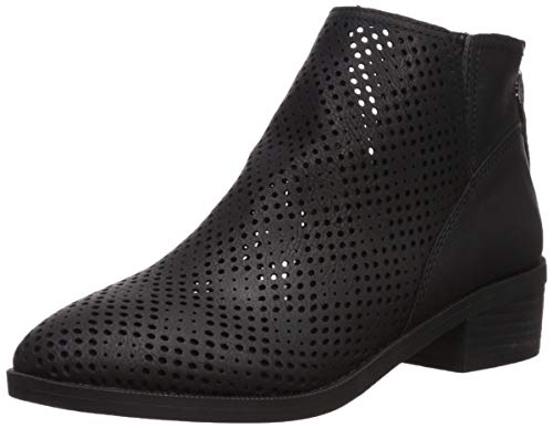 Madden Girl Women's Tally Ankle Boot, Black Nubuck, 8.5 M US (Girls High Heel Boots)