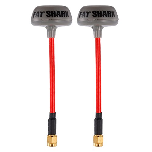 Goolsky Fatshark Antenna Immersion 5.8GHz TX/RX RHCP FPV SMA for QAV250 RC FPV Racing Drone Goggles