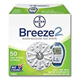 Bayer Breeze 2, Test Strips, 50 Count