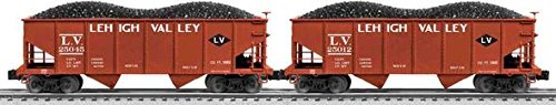 Lehigh Valley Scale 50-ton Twin Hopper 2-Pack