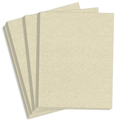 Astroparche Natural Paper - 8 1/2 x 11, 60lb Text, 4000 Pack