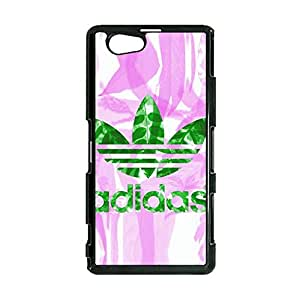 Colorful Creative Adidas Logo Cover Phone Case Print Protective Cover Case for Sony Xperia Z1 Mini Adidas Series
