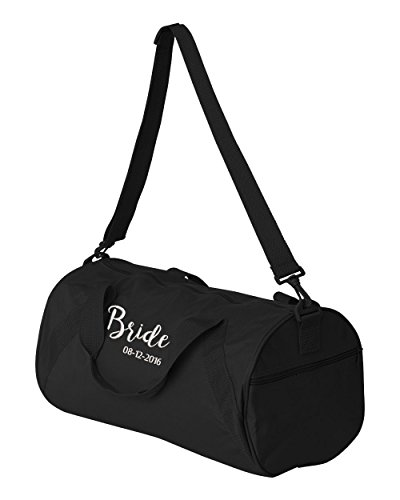 Bride Personalized Embroidered Duffle