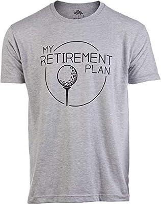 My (Golf) Retirement Plan   Funny Saying Golfing Shirt Golfer Ball Humor for Men T-Shirt