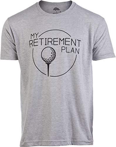1fb1c49d5 My (Golf) Retirement Plan | Funny Saying Golfing Shirt Golfer Ball Humor  for Men T-Shirt-(Adult,XL)