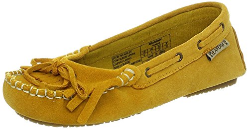 US 5 Scarlet Ankle Women's Slipper 7 M High BEARPAW Suede Hickory B Hgvw0qZ
