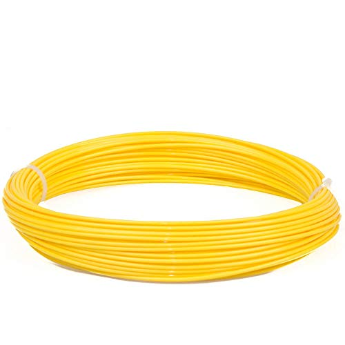INVENTO 20 meter 1.75mm Yellow PLA Filament 3D Printing Filament For 3D Pen 3D Printer