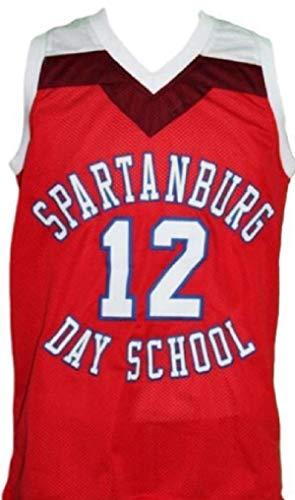 Authentic Duke Jersey - New Elite Zion Williamson #12 Spartanburg Day School Retro Classics Basketball Jersey (3XL (56))
