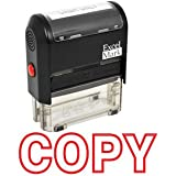 COPY Self Inking Rubber Stamp - Red Ink (42A1539WEB-R)
