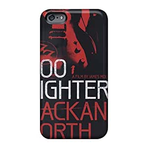 Protective Hard Phone Cover For Apple Iphone 6s (URP1593ZGqu) Provide Private Custom Stylish Foo Fighters Band Skin