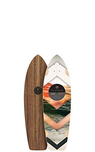 Arbor Rally Longboard Deck, Walnut