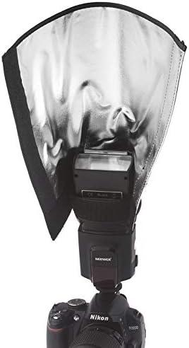 KANEED カメラアクセサリー 撮影機材 ユニバーサルフォールディングフラッシュライトリフレクター