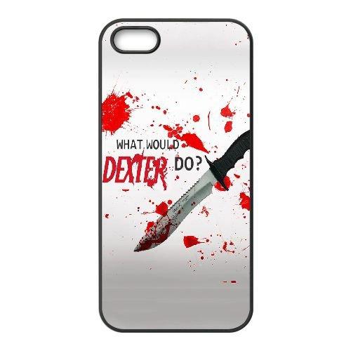 Blood Dexter O7J87P8OU coque iPhone 5 5s case coque black IV5IAW