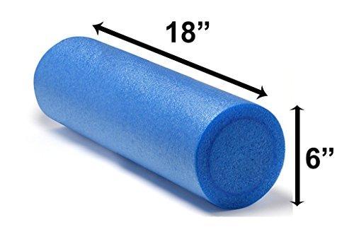 Foam Roller Yoga Pilates for Massage Workout Exercise Rehab Crossfit - 45cm x 15cm – Choice of Colour