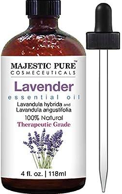 Majestic Pure Lavender Oil, Natural, Therapeutic Grade, Premium Quality Blend of Lavender Essential Oil, 4 fl. Oz - 10144480 , B00TSTZQEY , 285_B00TSTZQEY , 836225 , Majestic-Pure-Lavender-Oil-Natural-Therapeutic-Grade-Premium-Quality-Blend-of-Lavender-Essential-Oil-4-fl.-Oz-285_B00TSTZQEY , fado.vn , Majestic Pure Lavender Oil, Natural, Therapeutic Grade, Premium