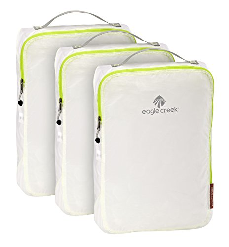 Eagle Creek Pack-It Specter Cube Set, Medium, White/Strobe