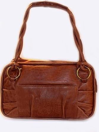 2837c06907ab Donna Dixon Nicole Distressed Leather Handbag  Handbags  Amazon.com