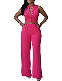 Amazon.com: Red - Jumpsuits & Rompers / Jumpsuits, Rompers ...